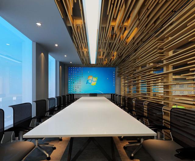 本案办公室设计的面积有1000平米,设计师认为办公空间要源于自然、源于生活,整体的设计要贴近自然。空间设计元素也是从自然和生活中获取的,在其中挖掘到无穷的灵感。下面跟臻翰装饰小编一起去欣赏欣赏吧。  前台接待的设计,设计师采用独立创新的设计手法,注重客户的体验感,使洽谈氛围变得更加放松。