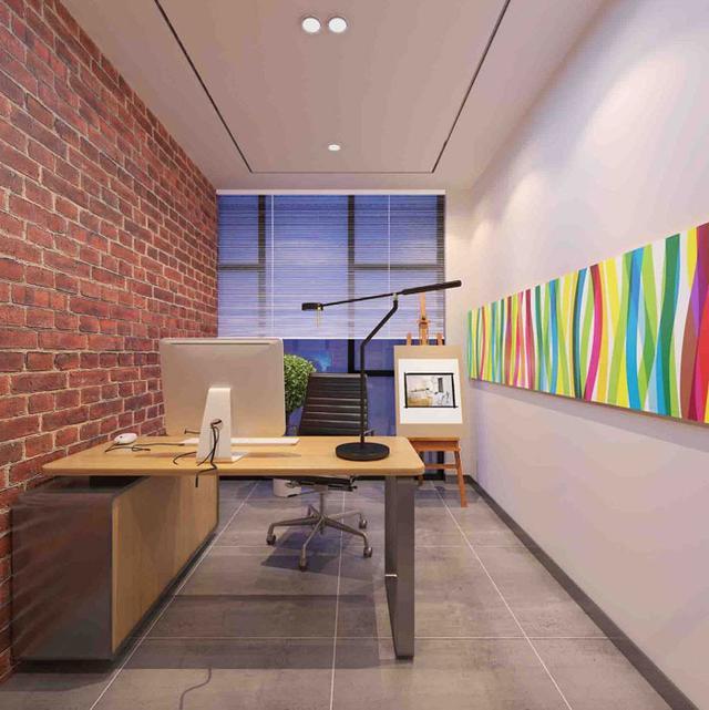220平方小型办公室装修设计 220平方小型创意办公室装修效果图